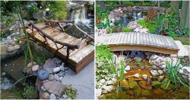 24 Small Garden Bridge Ideas
