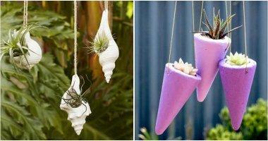 27 Cute DIY Hanging Planters