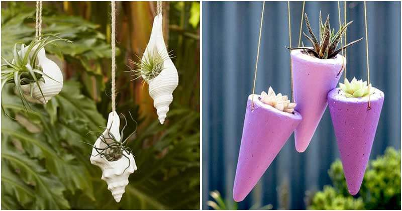 27 Cute DIY Hanging Planters