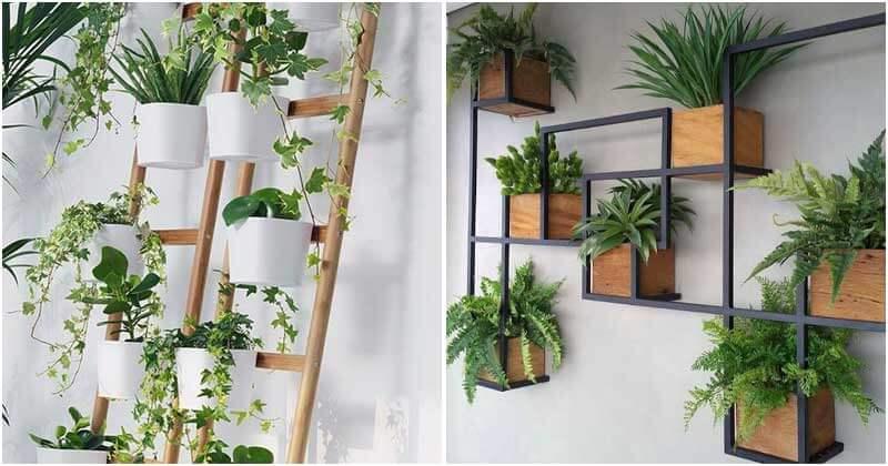 20 Creative Indoor Vertical Garden Decoration Ideas