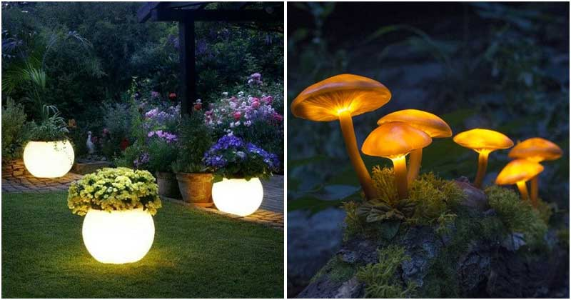 19 Impressive Light Ideas For Your Garden Yard At Night