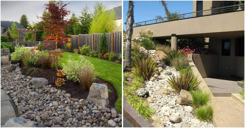 22 River Rock Landscaping Ideas to Spruce Up Your Backyard