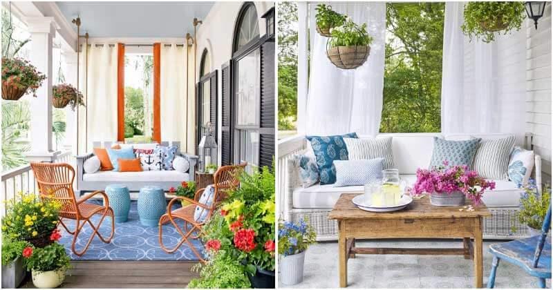 23 Plant Decor Ideas For Your Porch