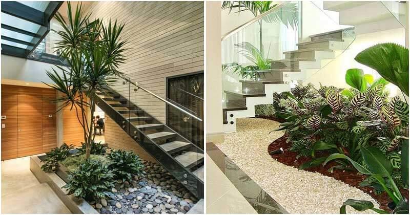 26 Mini Garden Ideas Under Your Staircase