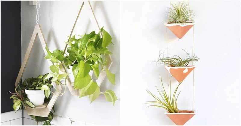 28 Lovely DIY Hanging Planter Ideas
