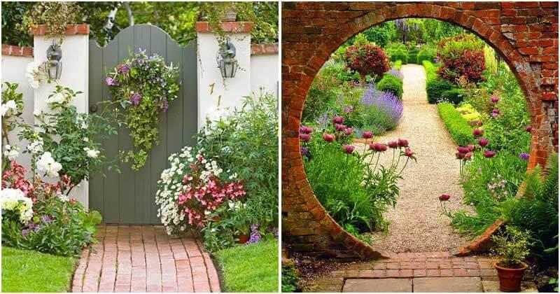 16 Great Garden Gate Ideas