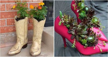 18 Creative DIY Shoes Planter Ideas
