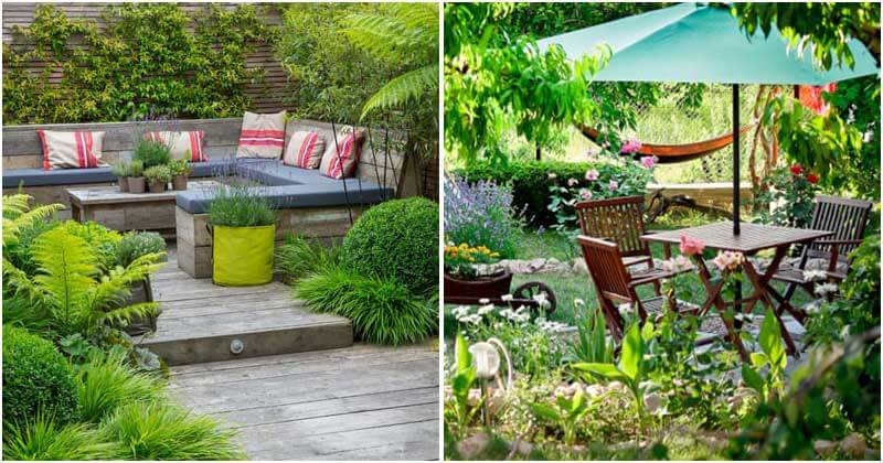 17 Wonderful Landscaping Ideas To Turn Your Small Yard Into An Oasis