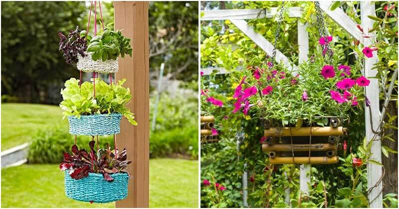 20 Beautiful Hanging Ideas For Outside Landscaping