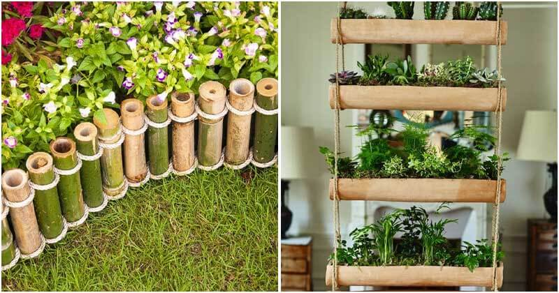 21 Creative Bamboo Ideas For Your House and Garden