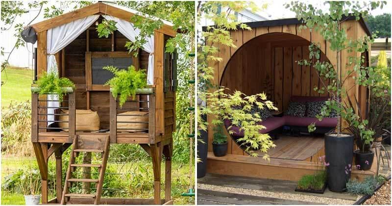21 Stunning Small Backyard Houses