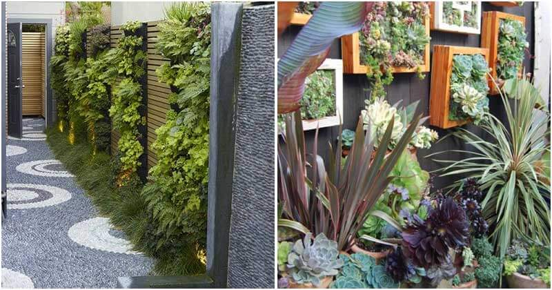 20 Spectacular Garden Wall Decor Ideas