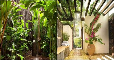 22 Outdoor Shower Ideas