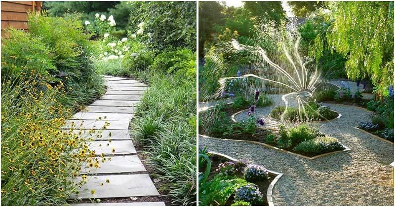 23 Beautiful Garden Path Design Ideas