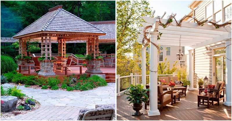 23 Pergola And Gazebo Design Ideas For Your Backyard