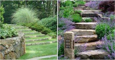 21 Beautiful Garden Stair Ideas