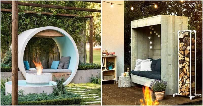 18 Appealing Garden Seating Ideas