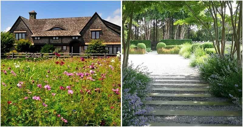22 Tranquil Backyard Ideas With Strolling Garden