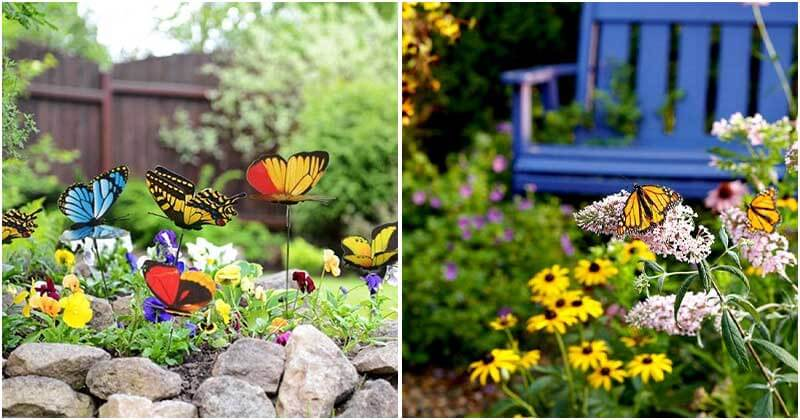 15 Easy and Beautiful Butterfly Garden Ideas