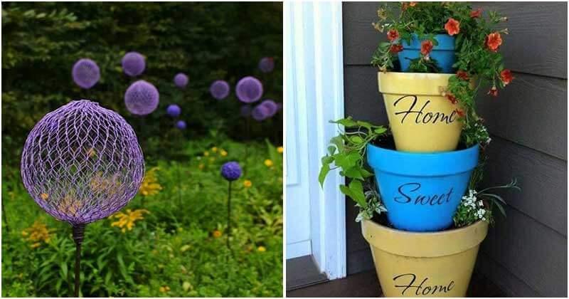 18 Great DIY Garden Ideas