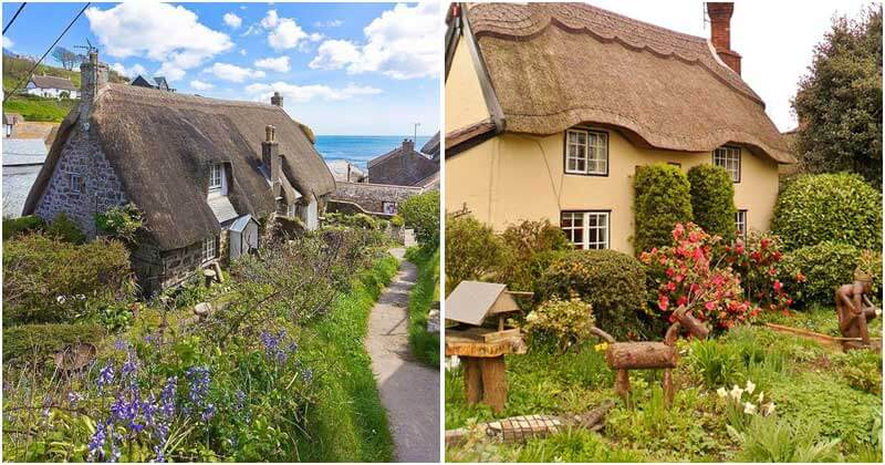 Beautiful 19th Century Cottage Houses