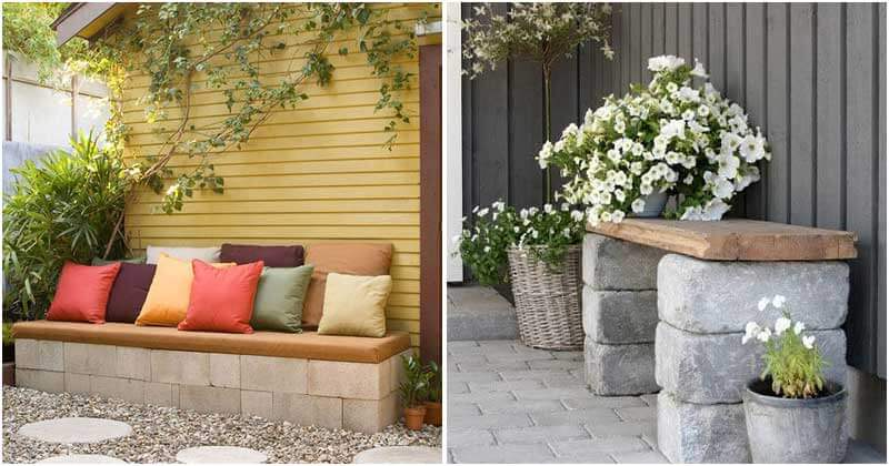 14 DIY Garden Bench Ideas