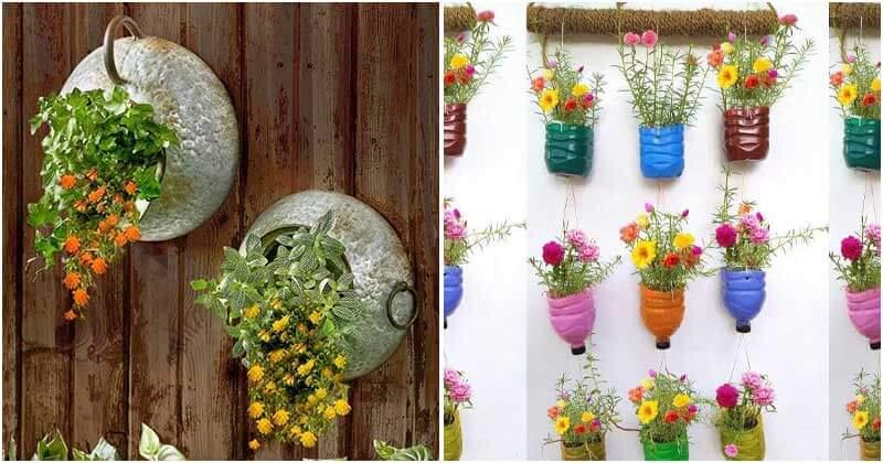 30 Creative DIY Wall Planter Ideas
