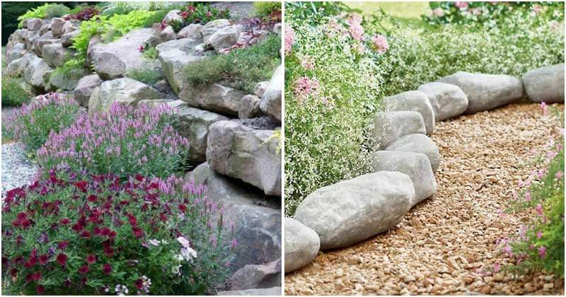 16 Stunning Rock Ideas To Spice Up Your Garden