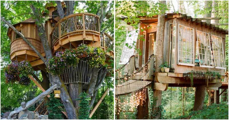 27 Best Treehouse Ideas That You Can Build Yourself
