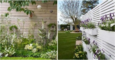 30 Unique Garden Fence Decoration Ideas