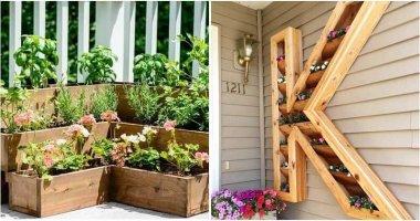 22 DIY Pallet and Wood Planter Box Ideas