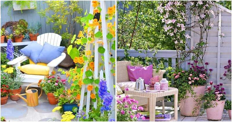 Chic Garden Seating Ideas For Those Who Love Romantic and Peaceful