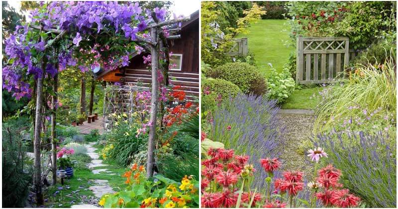 30 Blooming Cottage Style Garden Ideas