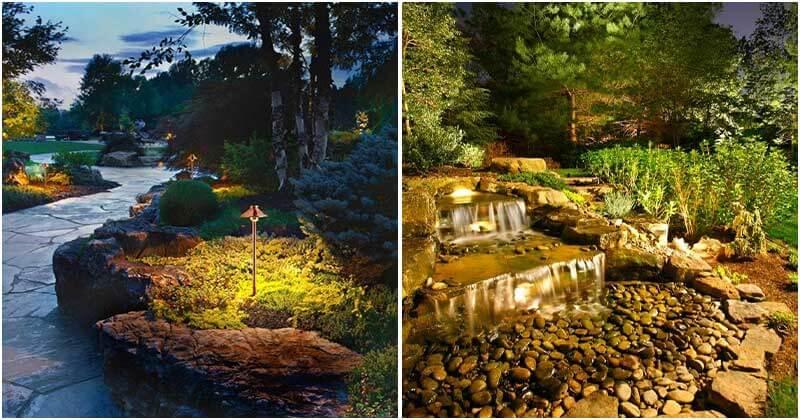 18 Eye-catching Landscape Lighting Ideas