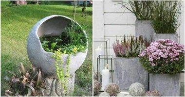 27 Creative DIY Concrete Garden Ideas