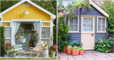 23 Pretty Garden Shed Ideas