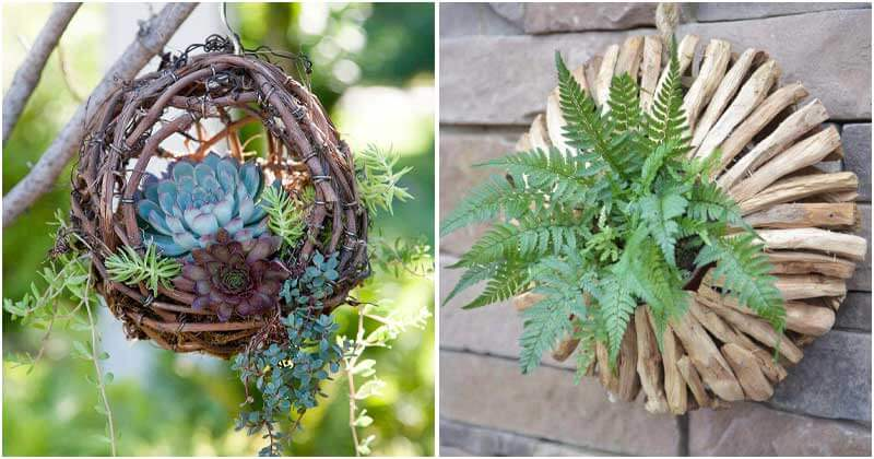28 Pretty Outdoor Hanging Planter Ideas