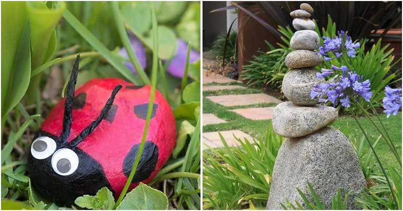 17 Creative Ways to Use Rocks in Your Garden