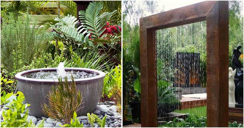 21 Classic and Soothing Outdoor Water Fountain Ideas