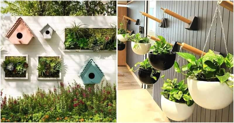 26 Creative And Cool Vertical Garden Ideas