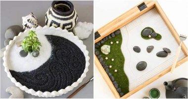 18 DIY Mini Zen Garden Ideas For Your Tabletop