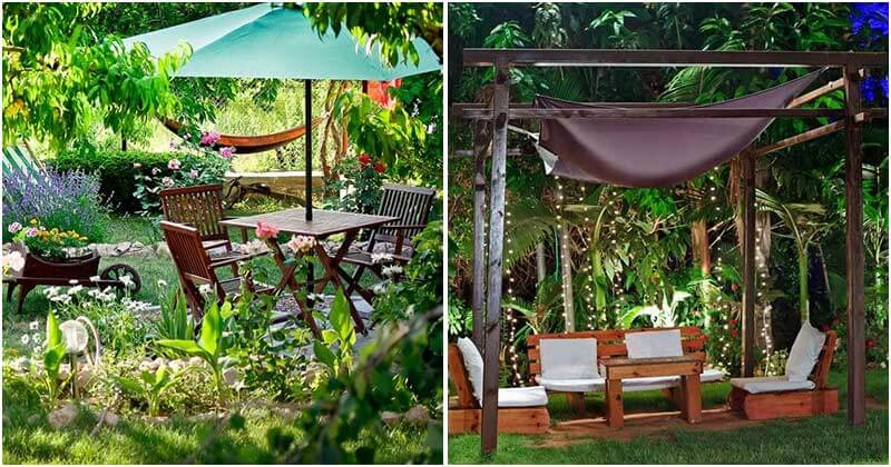 21 Serene Garden Patio Designs
