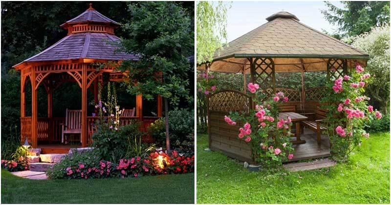 17 Adorable Garden Gazebo Ideas