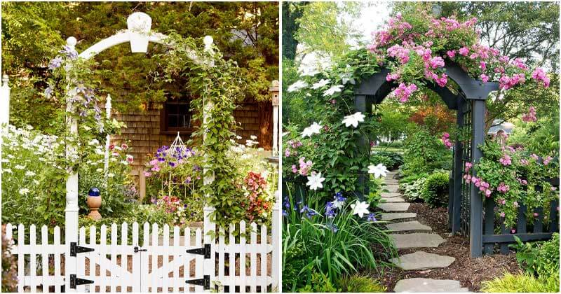 23 Best Beautiful Arbor Garden Ideas