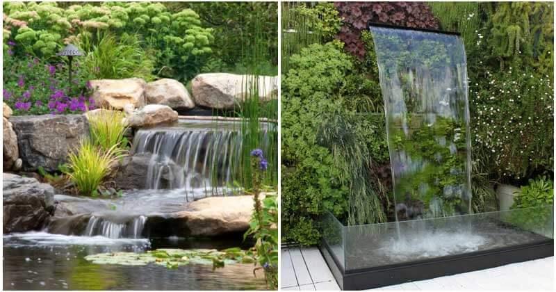 22 Beautiful Backyard Ponds With Waterfalls