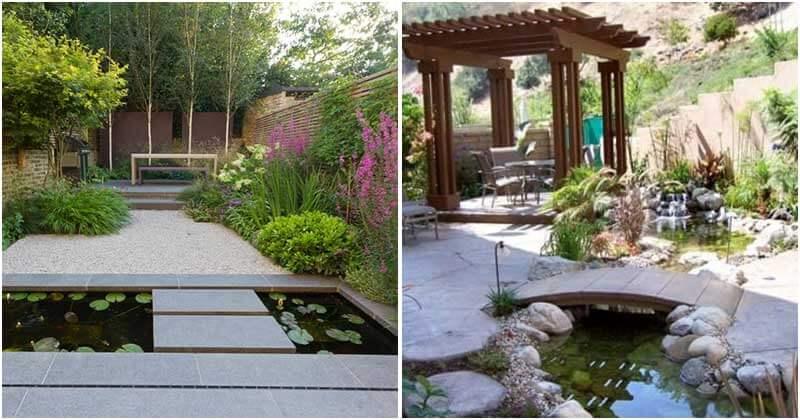 22 Cool Backyard Pond Ideas
