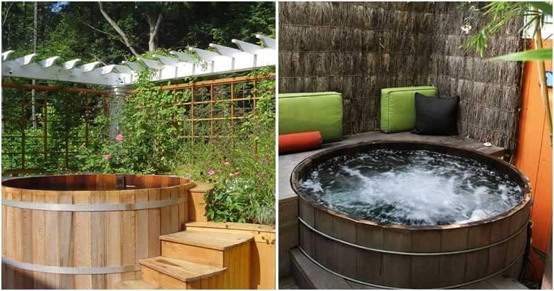 25 Awesome Backyard Hot Tub Ideas