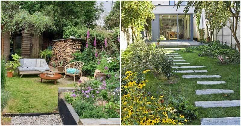 20 Creative And Appealing Ideas To Decorate Your Small Garden