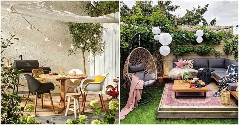 24 Stunning Terrace and Patio Ideas
