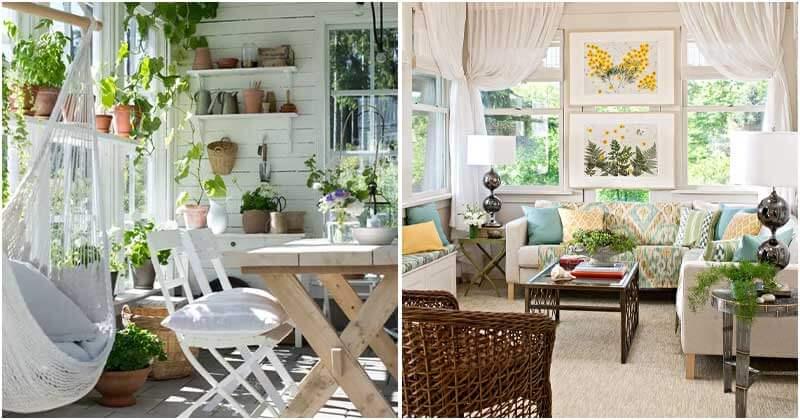 25 Beautiful Sunroom Decor Ideas